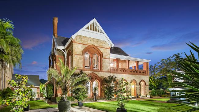 Historic gothic mansion sells after almost a year on market for 333 south terrace adelaide