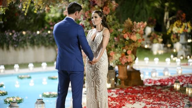 "<span id=""U3132430789249BC"" style=""font-weight:normal;font-style:italic;"">The Bachelor </span>filmed the finale at Fernhill Estate. Bachelor Sam Wood chose his leading lady Snezana Markoski."