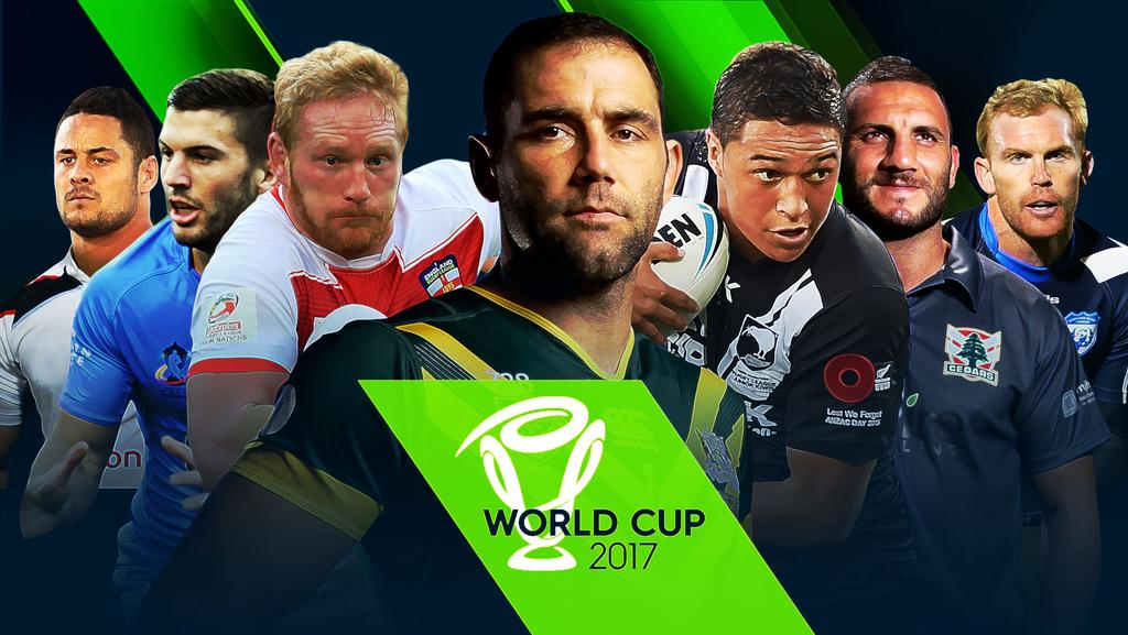 Ultimate Guide to the 2017 Rugby League World Cup.