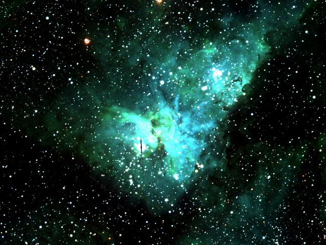 In this nebula is a star that 200 years ago was the brightest star in the sky.
