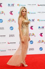 Samantha Jade at the 2015 Aria Awards held at The Star in Pyrmont. Picture: Christian Gilles
