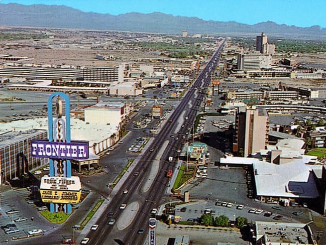New Frontier Casino in the 1950s / Picture: Supplied