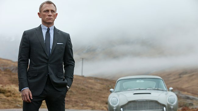 License to thrill: Daniel Craig in a scene from Skyfall.