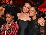 Janelle Monae, Lisa Joy and Tessa Thompson attend the HBO's Official 2017 Emmy After Party. Picture: Jeff Kravitz/FilmMagic