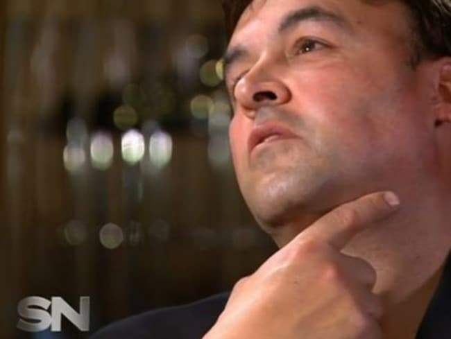 Chris Soteriou describes the moment he had his throat slit. Source: Sunday Night