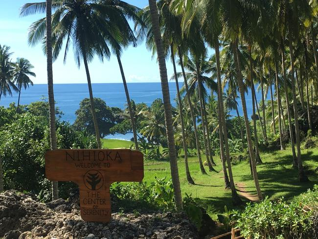 Inside Nihiwatu resort in Indonesia, which was recent named the world's number one hotel. Picture: Jenny Hewett