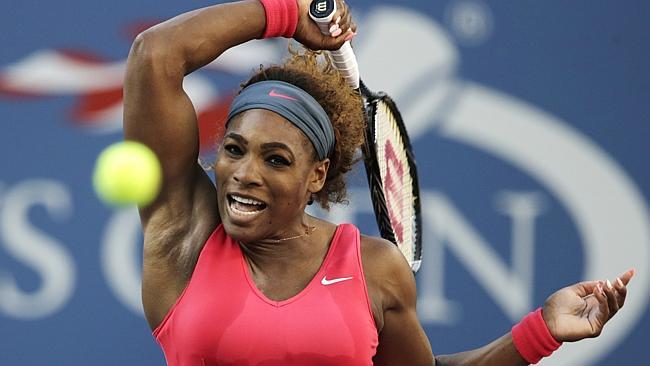 Serena Williams at the US Open. (AP Photo/Charles Krupa)