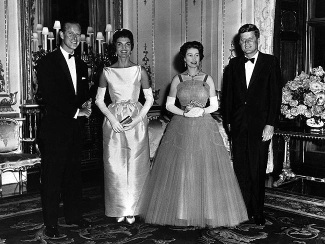 Queen with US Presidents: Queen Elizabeth and Prince Philip host President and Mrs. Kennedy in 1961. Photo: John F. Kennedy Presidential Library