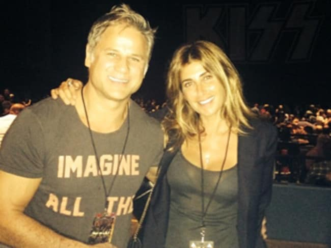 Engaged ... Jodhi Meares and Jon Stevens. Picture: Instagram/Jodhi Meares