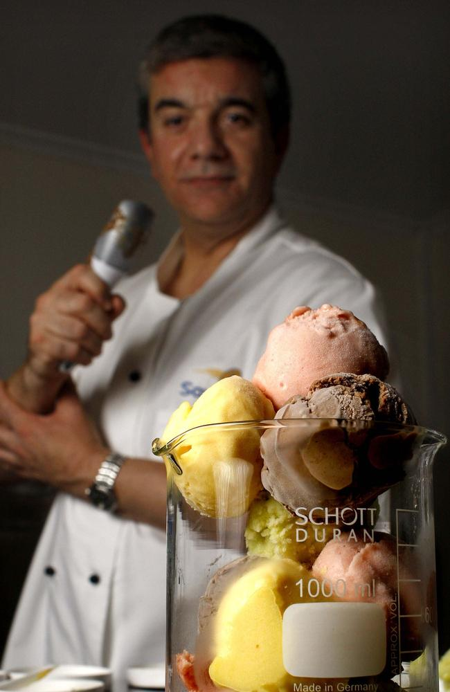 Canberra's own Zumbo, John Marshall makes the best ice cream in town. Picture: Supplied