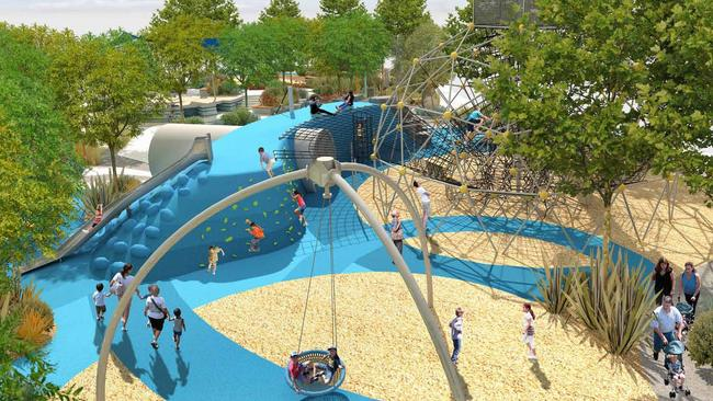 Booran Reserve Playground In Glen Huntly Could Be Best In