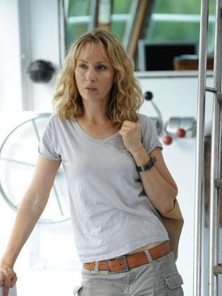 Lisa McCune in Reef Doctors.