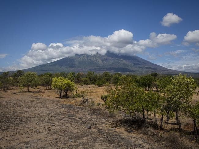 The volcano last erupted in 1963, killing 1100 people. Picture: Ulet Ifansasti/Getty Images