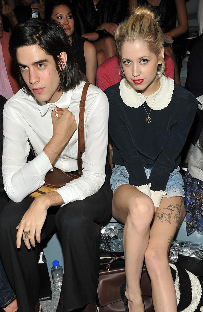 Peaches Geldof and her husband Thomas Cohen in 2012.