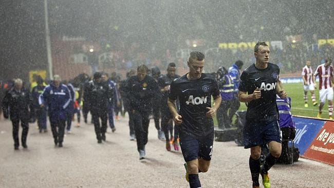 A Hailstorm Can T Stop Manchester United At Stoke