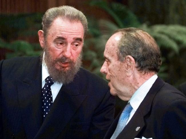 Castro hosted lavish parties at properties he had throughout the Caribbean. Picture: Adalberto Roque/AFP