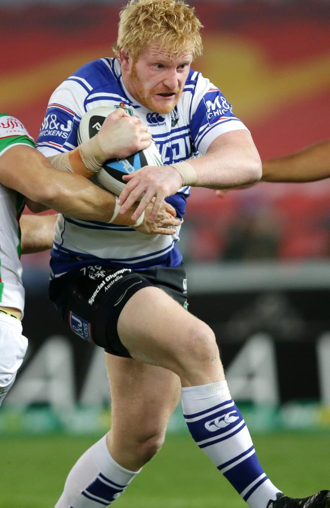 James Graham had a strong game for the Bulldogs. Pic: Gregg Porteous