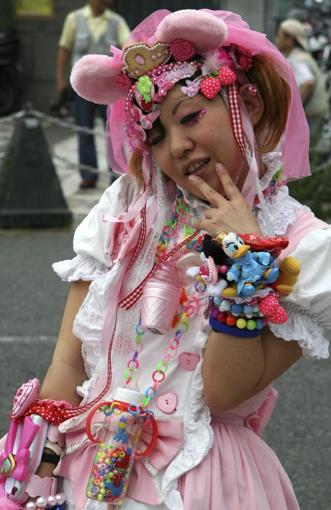 Every Sunday characters converge on Harajuku Tokyo's fashion district.