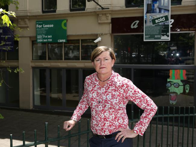 Tony Abbott's youngest sister Christine Forster. Picture: Craig Wilson