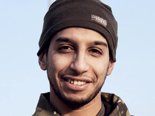 Mastermind ... This photo purportedly shows 27-year-old Belgian IS group leading militant Abdelhamid Abaaoud, also known as Abu Umar al-Baljiki and believed to be the mastermind of a jihadist cell dismantled in Belgium. Picture: AFP