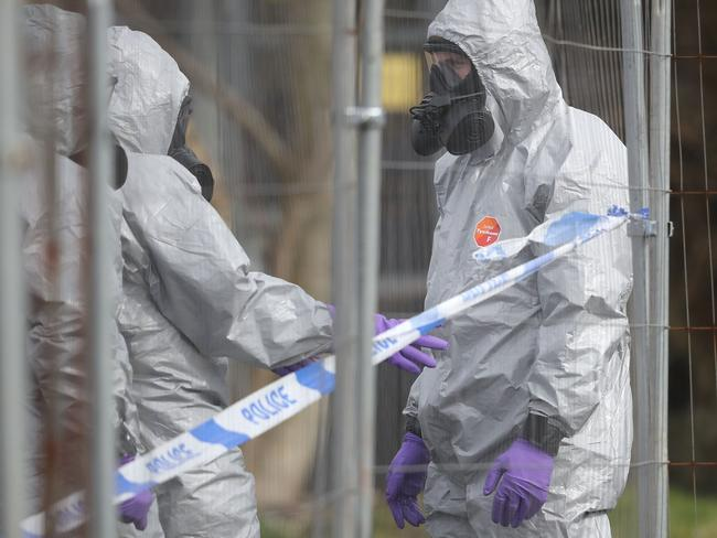She vowed further action against Russia after a deadline passed for the nation to confirm its involvement in the attempted murder of former spy Sergei Skripal and his daughter Yulia with a nerve agent. Picture: Christopher Furlong/Getty Images