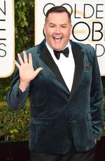 TV personality Ross Mathews arrives at the 73rd annual Golden Globe Awards, January 10, 2016, at the Beverly Hilton Hotel in Beverly Hills, California. AFP PHOTO / VALERIE MACON