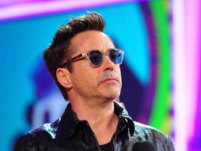 Comeback king ... Robert Downey Jr at the Nickelodeon Kids' Choice Awards. Picture: Frazer Harrison