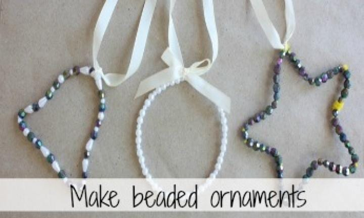 Make your own beaded ornaments