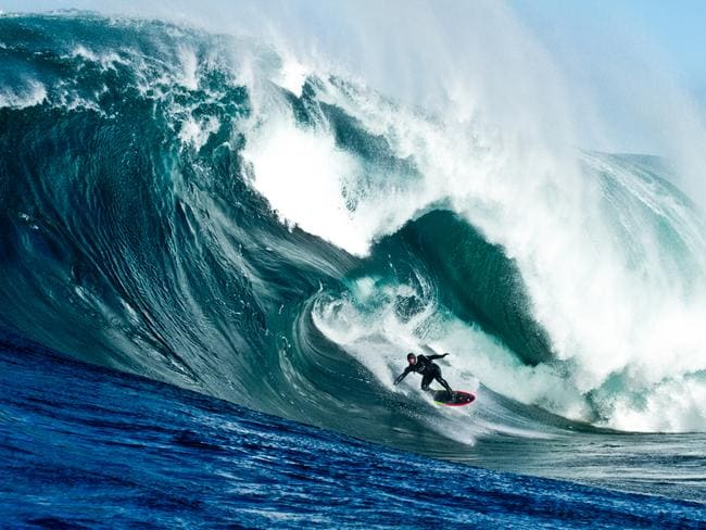 Drop in on Australia's biggest waves