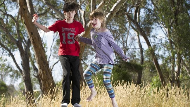 Tara O'Connell, pictured with her brother Sean, bounced back from near fatal epileptic seizures thanks to a cannabis tincture.