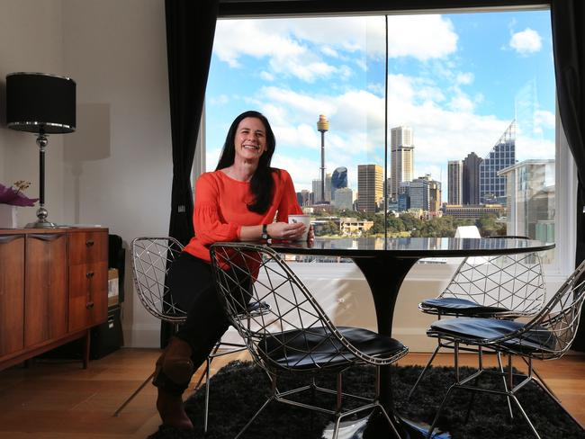 Vicki Pericak is selling her Potts Point apartment. Agents say the market is flooded with buyers who are pushing prices higher. Picture: Toby Zerna