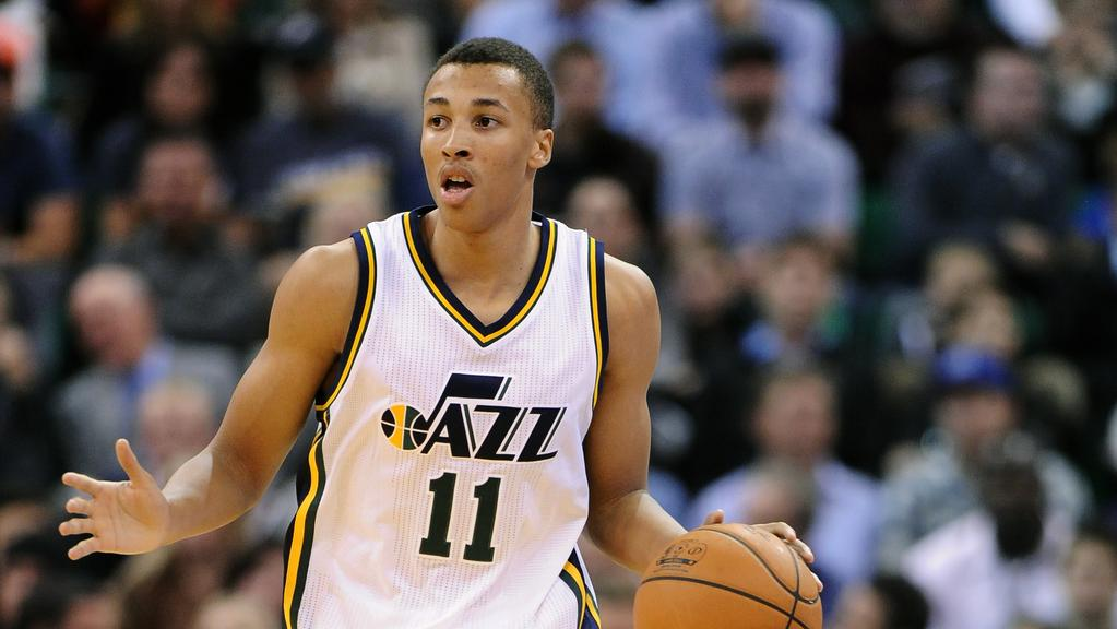 Dante Exum steps up to lead Jazz to victory in breakout ...