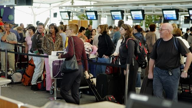 Queues like this at the airport might be a thing of the past in the future.