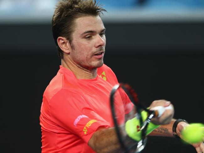 Wawrinka's hopes of claiming a second Australian Open title are still alive.