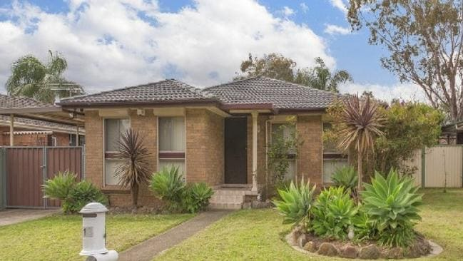 Competition was fierce for 13 Emerson St, Wetherill Park. Picture: realestate.com.au