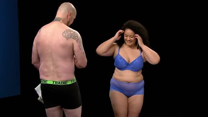 Undressed Review New SBS Show Leaves Little To The Imagination - Awkward video shows strangers undressing eachother