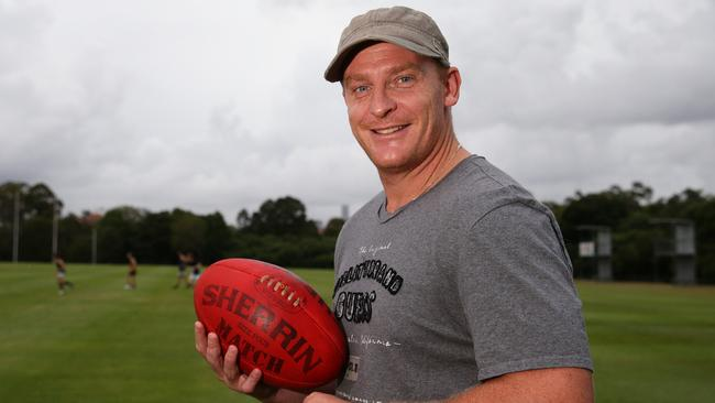 Former AFL coach Michael Voss highly unlikely to return to club land. Picture: Adam Head