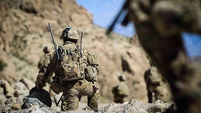Australian soldiers on patrol in Afghanistan. File picture: Craig Greenhill