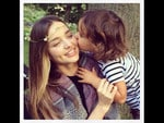 MUMMIES and their bubbies are some of the most popular pics on Instagram. Here're the pics that are making us go awww at the moment... Australian model Miranda Kerr with son Flynn. Picture: Instagram