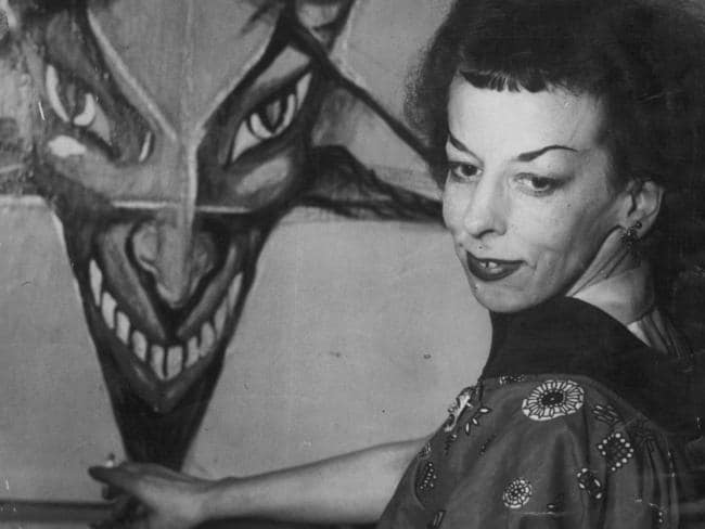 Rosaleen Norton, the 'Witch of Kings Cross', was condemned for her Satanic artworks and bizarre appearance.