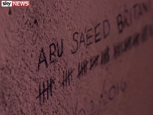 British foreign fighter Abu Saeed Britan is believed to have died here. Picture: Sky News