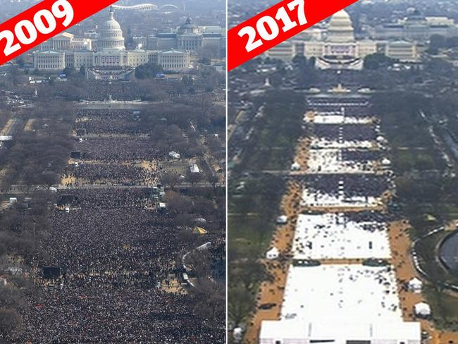 Doubts raised over inauguration photo