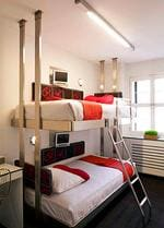 <p>New York's Pod Hotel has tiny rooms / supplied</p>