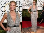 Heidi Klum arrives at the 73nd annual Golden Globe Awards, January 10, 2016, at the Beverly Hilton Hotel in Beverly Hills, California. Picture: Supplied