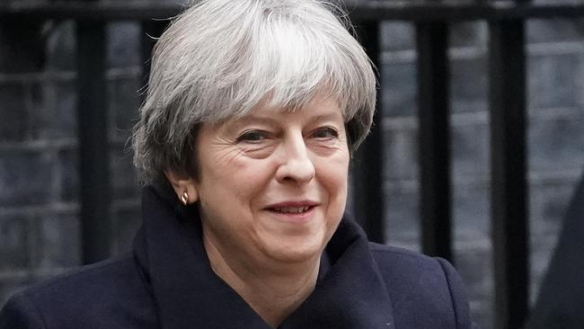 Prime Minister Theresa May was the target of a planned assassination attack. Picture: Christopher Furlong/Getty Images.