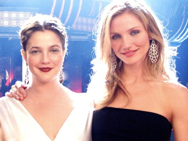 Drew Barrymore and Cameron Diaz.