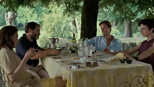 The gay love story Call Me By Your Name received a number of nominations, including Best Picture. Picture: Supplied