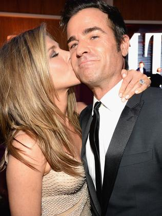 Jennifer Aniston and Justin Theroux. Picture: Supplied