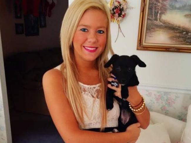 Katie Riggs, the dog's owner, is taking legal action. Picture: Facebook
