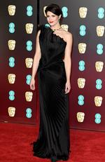 Gemma Arterton attends the EE British Academy Film Awards (BAFTA) held at Royal Albert Hall on February 18, 2018 in London, England. Picture: Jeff Spicer/Getty Images